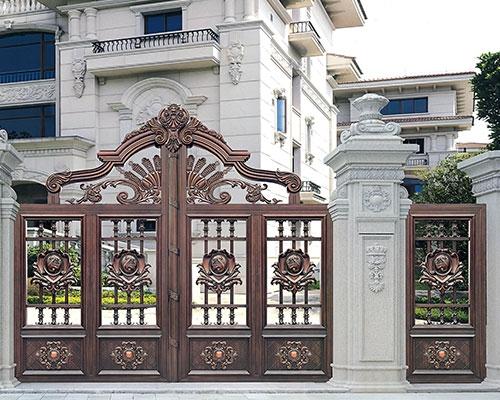 安义庭院大门