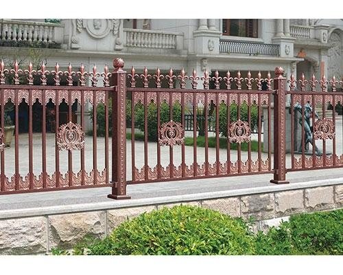 铝艺外墙护栏安装