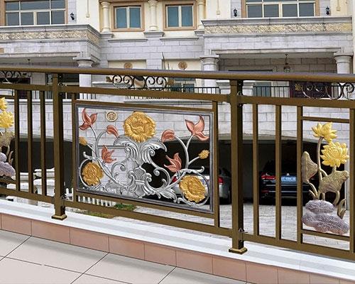 安义定做铝艺阳台护栏