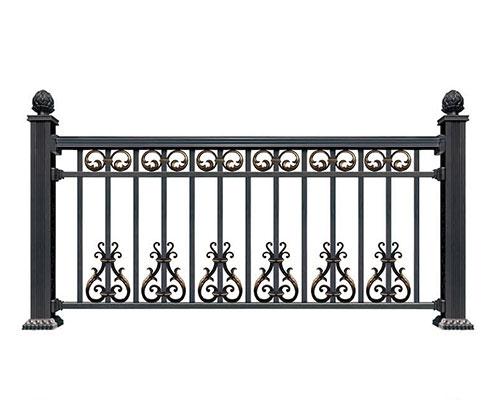 安义铝艺护栏设计