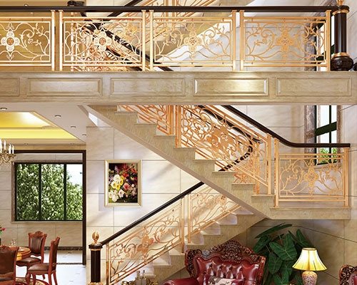 安义铝艺楼梯扶手