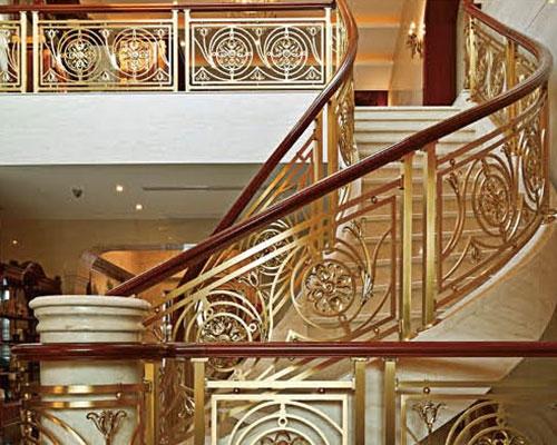 安义铝艺楼梯