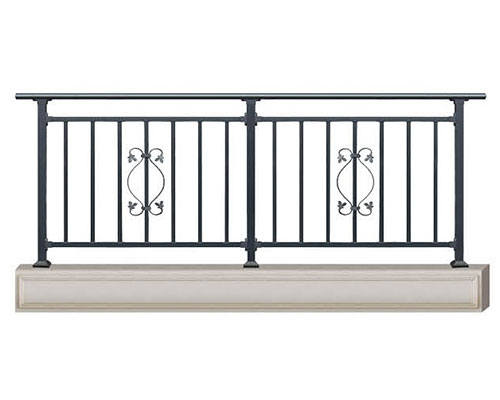 锌钢护栏设计