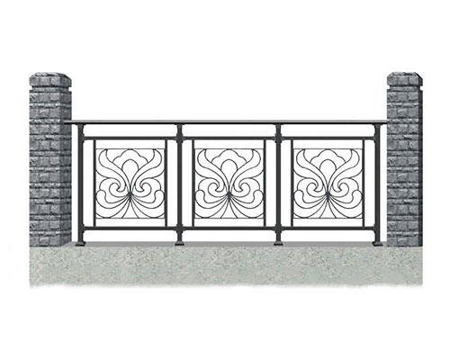 安义锌钢护栏安装