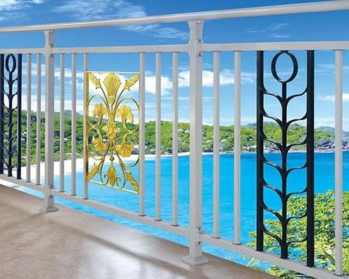 安义锌钢阳台护栏