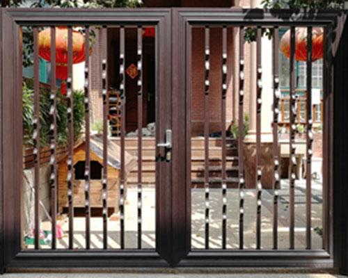 赣州别墅铝艺大门图片-五龙桂园