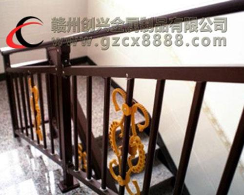 锌钢楼梯扶手安装