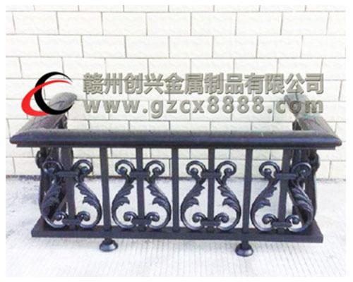 安义锌钢空调栏杆图片